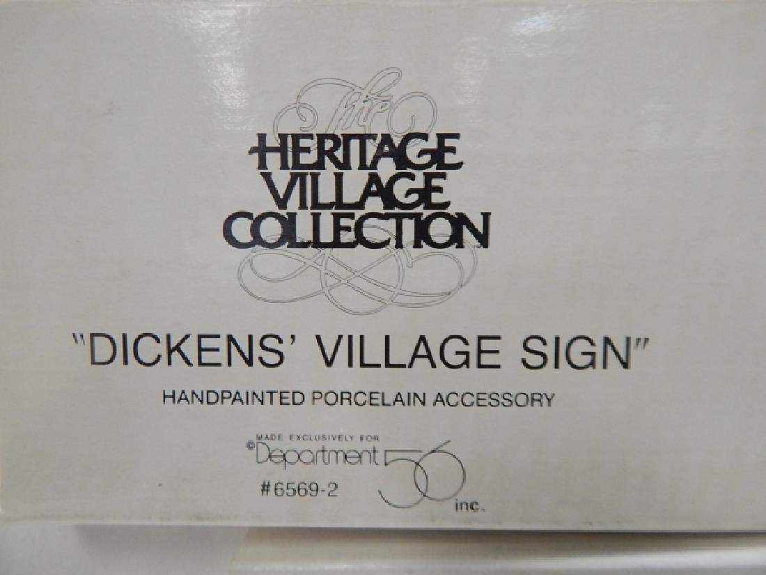 DEPARTMENT 56 HERITAGE VILLAGE COLLECTION - 6