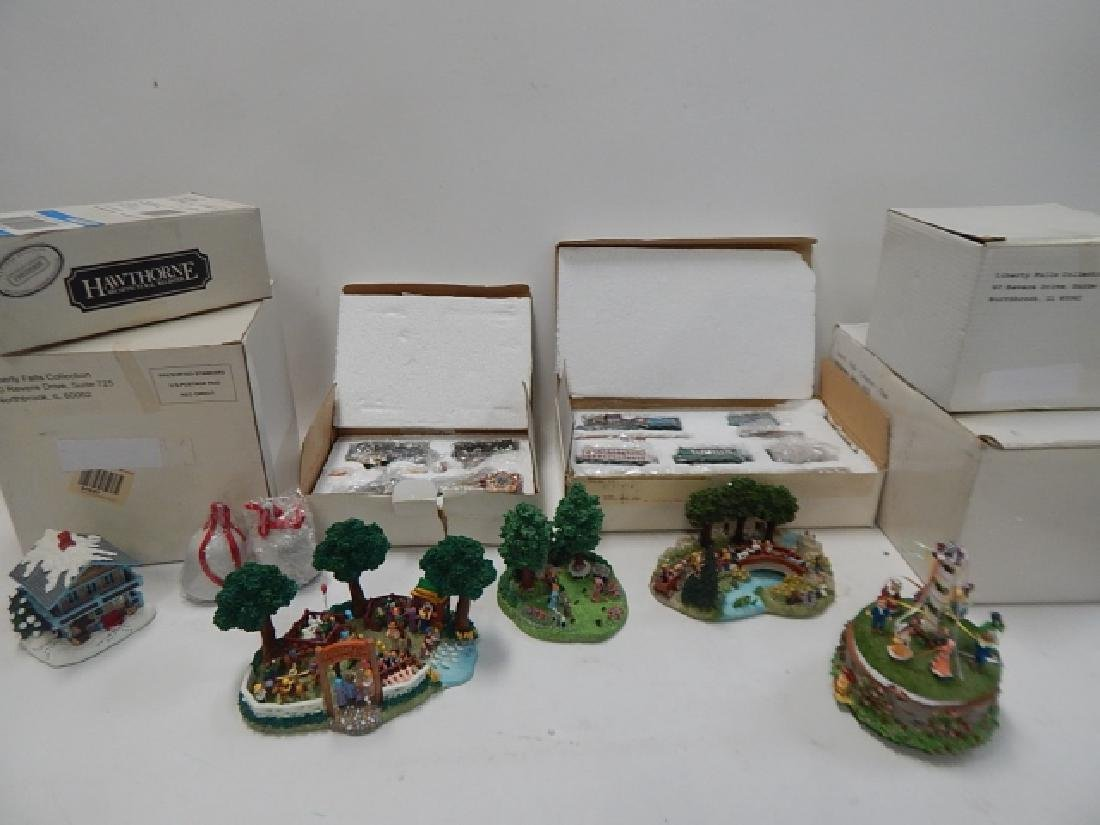 LOT OF HAWTHORN AND LIBERTY FALLS COLLECTIBLES