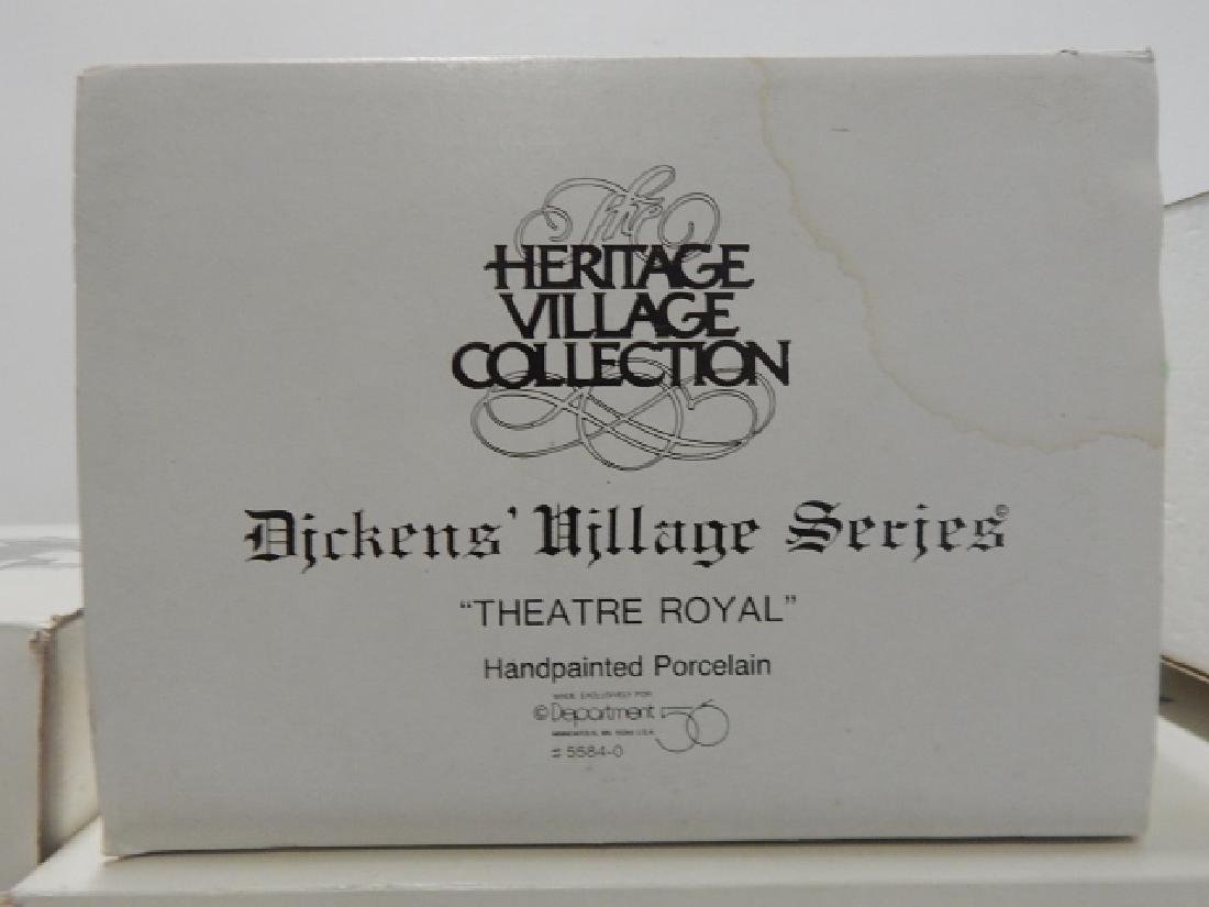 6 PC. DEPARTMENT 56 HERITAGE VILLAGE COLLECTION - 6