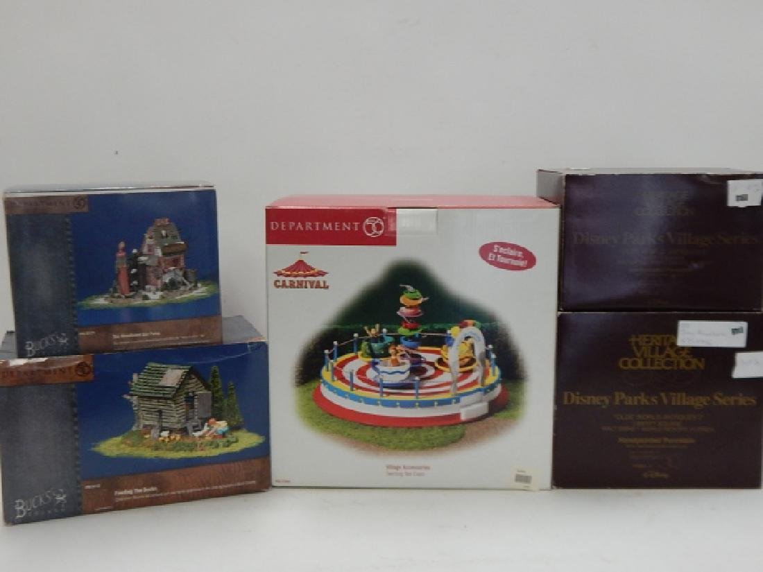 5 PC. ASSORTED DEPARTMENT 56 COLLECTABLES