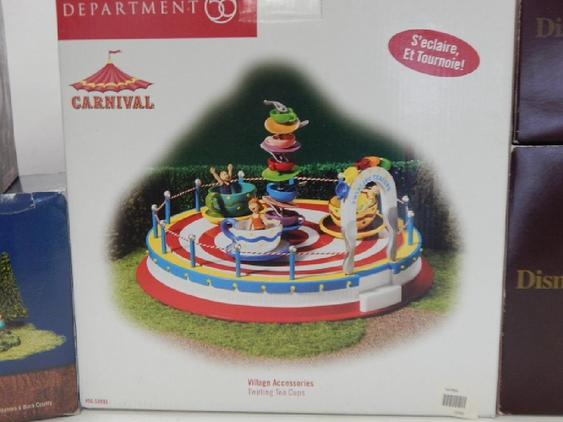 5 PC. ASSORTED DEPARTMENT 56 COLLECTABLES - 3