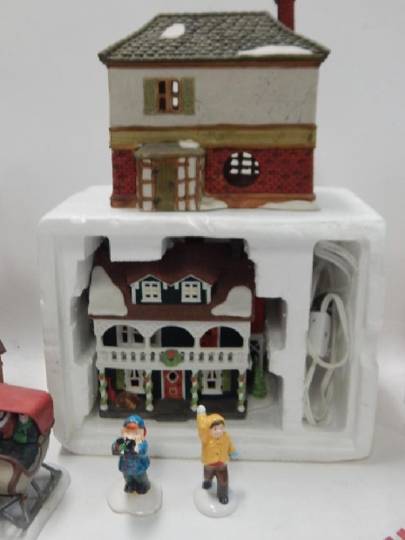 ASSORTED DEPARTMENT 56 VILLAGE PCS - 2
