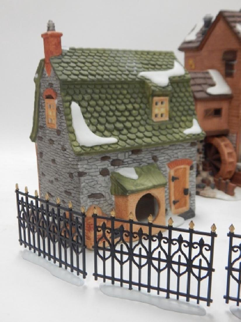 ASSORTED DEPARTMENT 56 VILLAGE PCS - 5