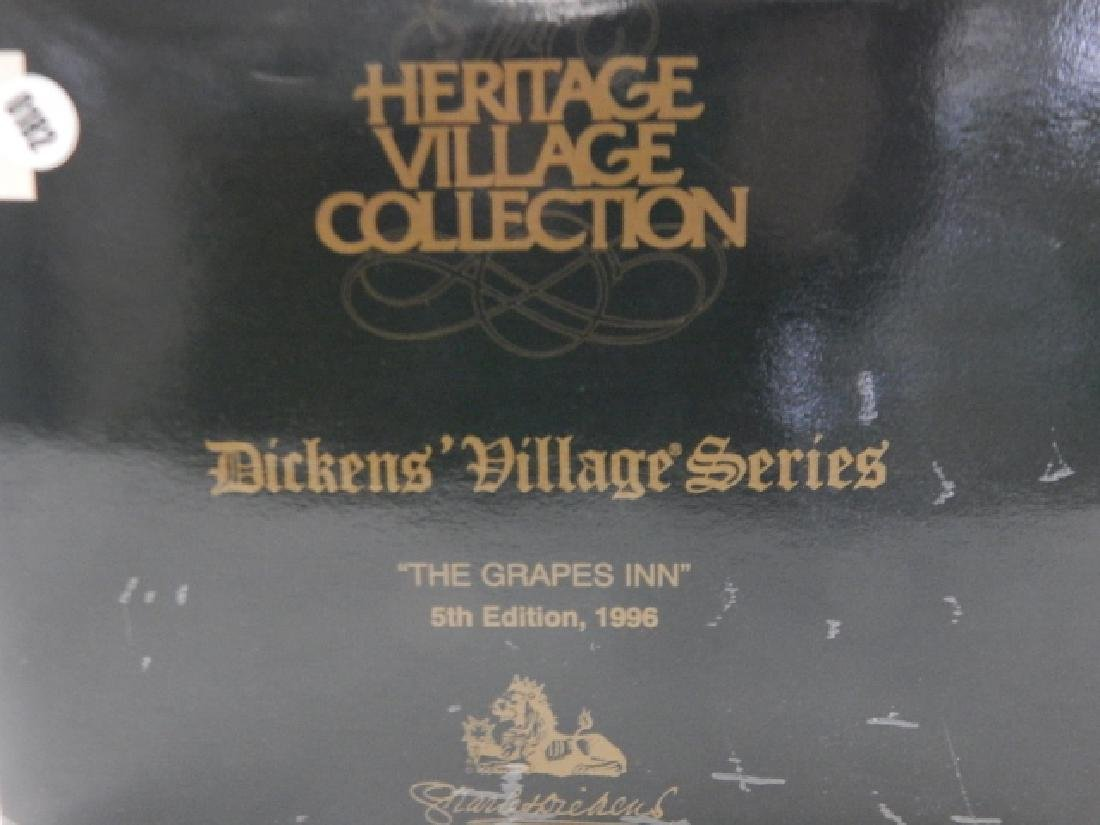 6 PC. DEPARTMENT 56 HERITAGE VILLAGE COLLECTION - 5