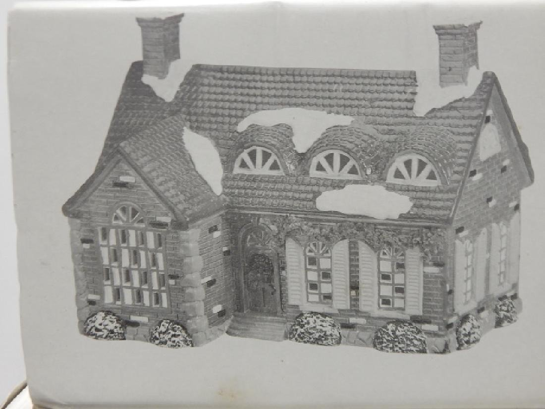 6 PC. DEPARTMENT 56 VILLAGE COLLECTION - 2