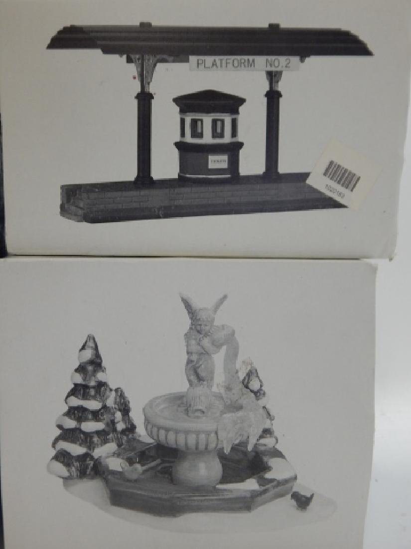 6 PC. DEPARTMENT 56 VILLAGE COLLECTION - 4