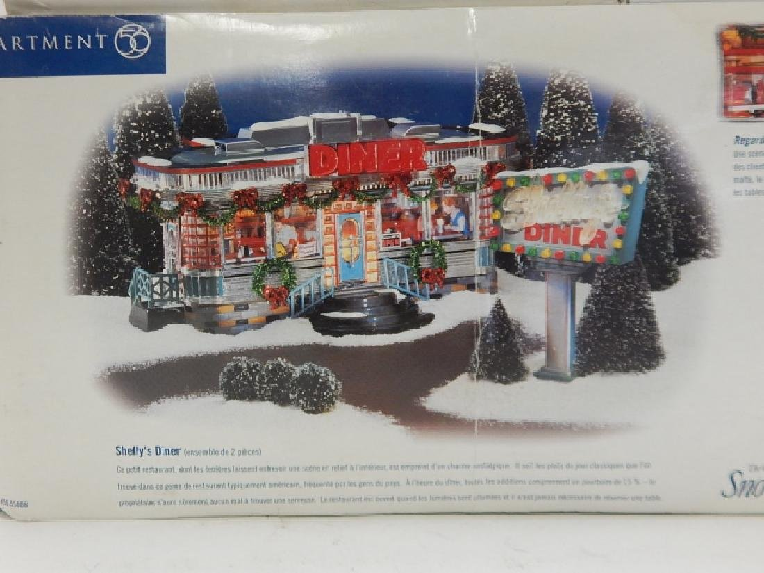 6 PC. DEPARTMENT 56 VILLAGE COLLECTION - 5