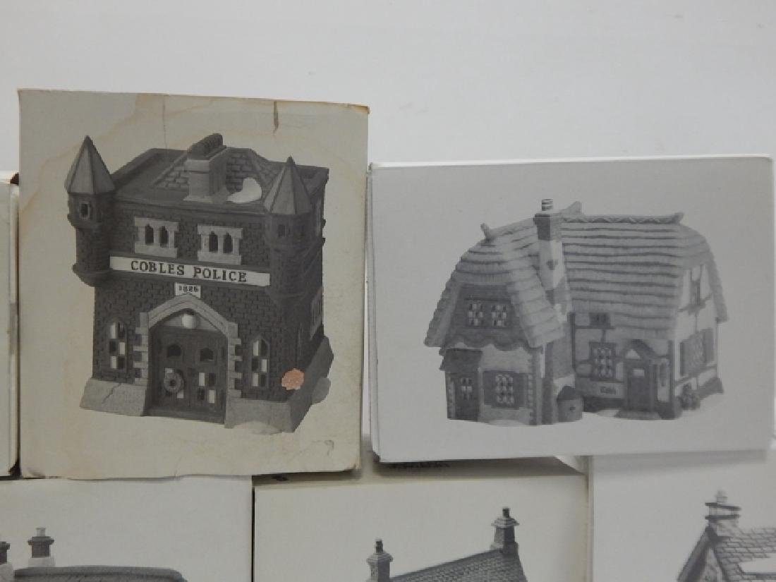 7 PC.  DEPARTMENT 56 HERITAGE VILLAGE COLLECTION - 2