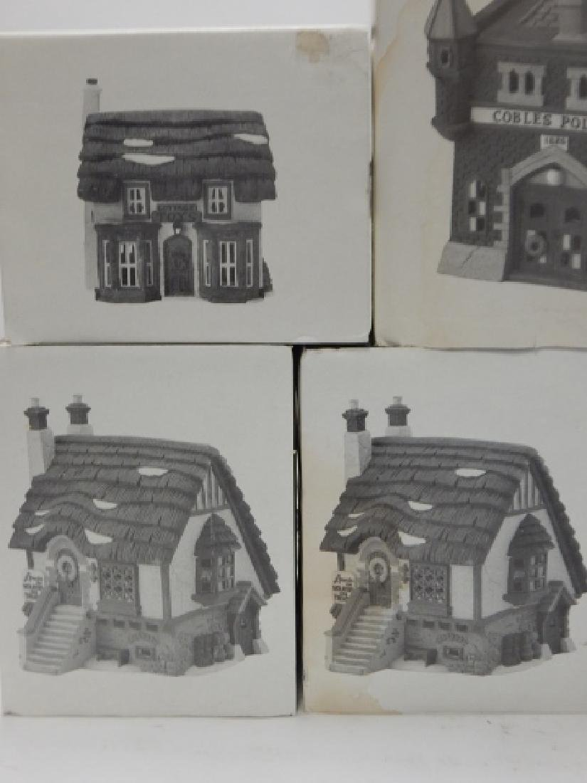 7 PC.  DEPARTMENT 56 HERITAGE VILLAGE COLLECTION - 3
