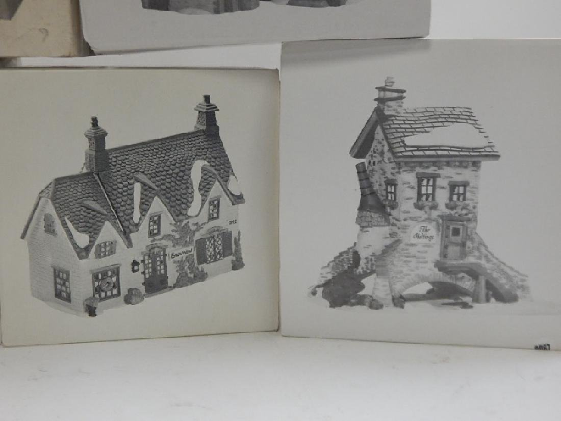 7 PC.  DEPARTMENT 56 HERITAGE VILLAGE COLLECTION - 4