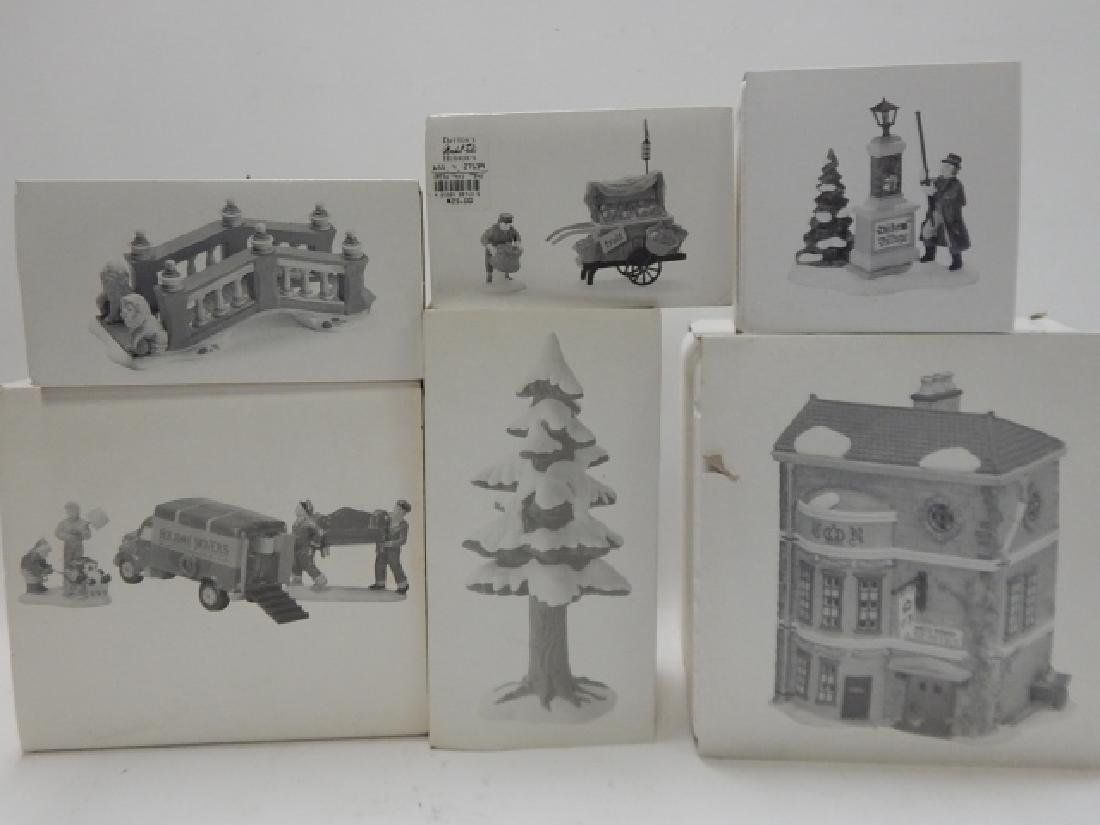 6 PC DEPARTMENT 56 HERITAGE VILLAGE COLLECTION