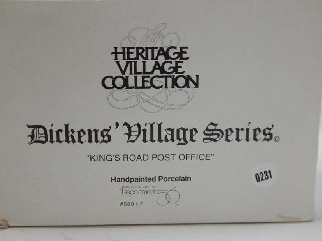 6 PC DEPARTMENT 56 HERITAGE VILLAGE COLLECTION - 8