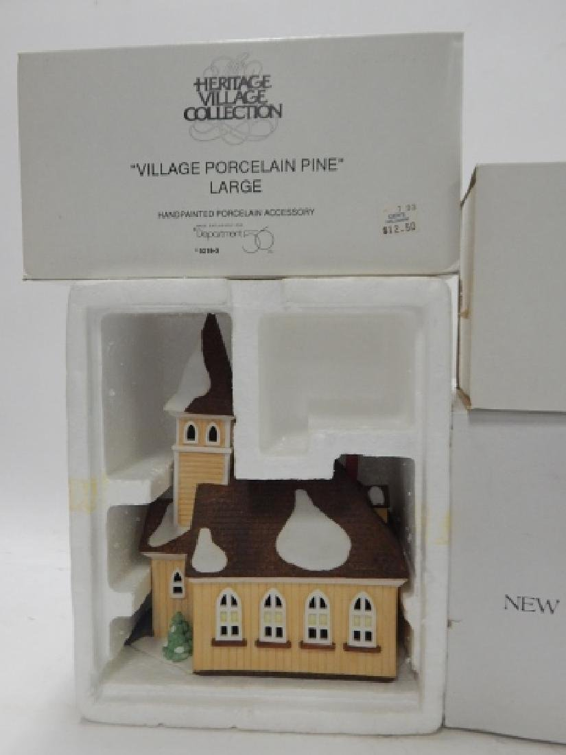 6 PC DEPARTMENT 56 HERITAGE VILLAGE COLLECTION - 6