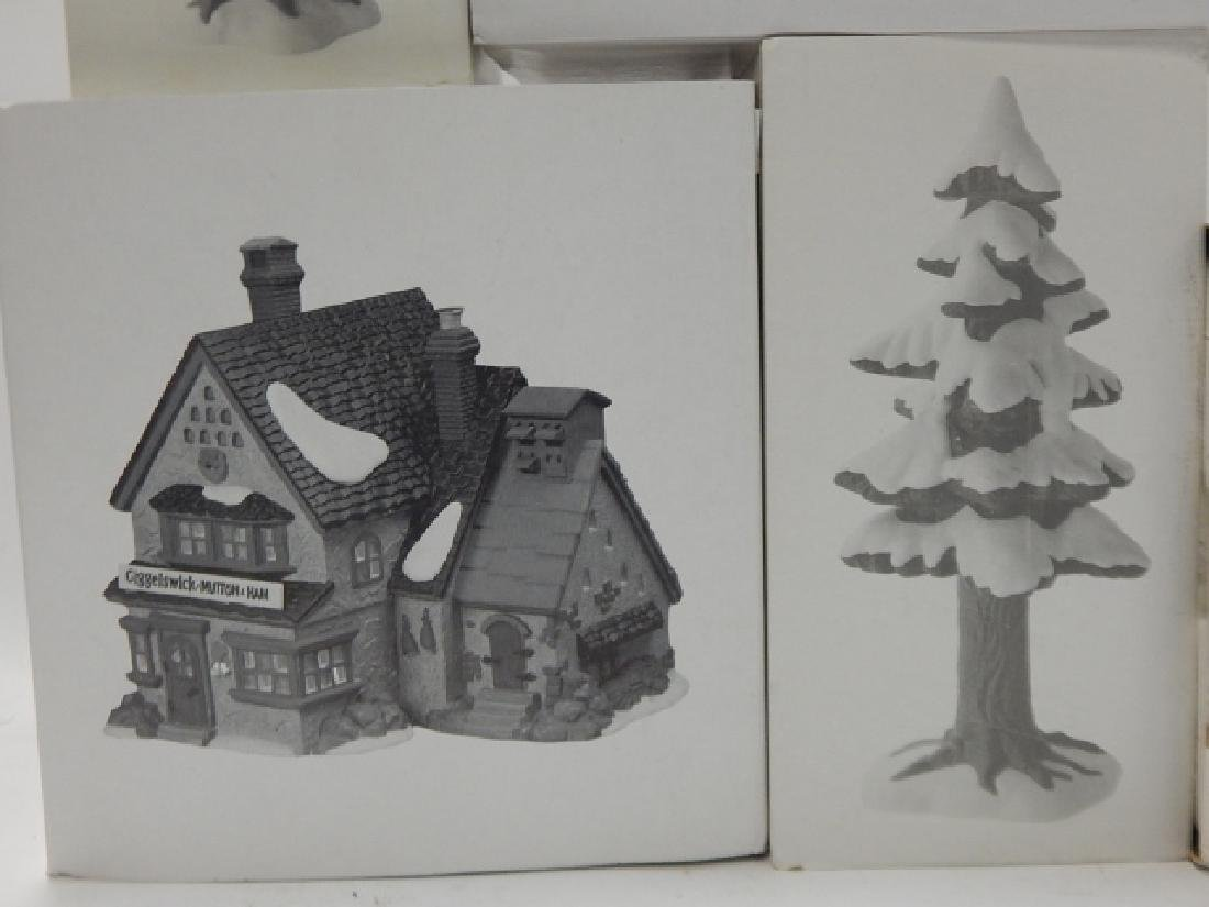 6 PC. DEPARTMENT 56 OF HERITAGE VILLAGE COLLECTION - 2
