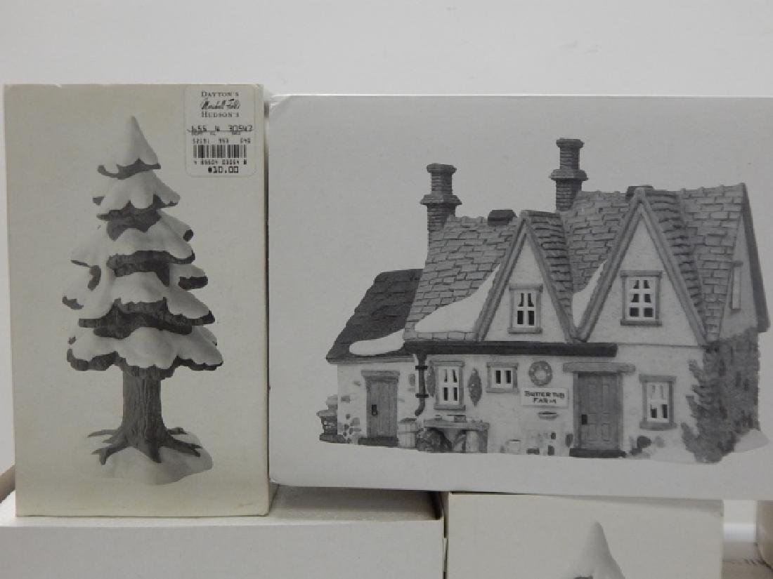 6 PC. DEPARTMENT 56 OF HERITAGE VILLAGE COLLECTION - 3