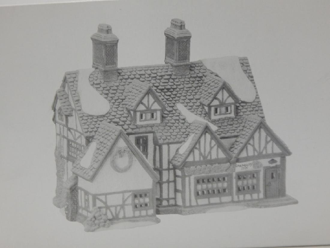 6 PC DEPARTMENT 56 OF HERITAGE VILLAGE COLLECTION - 2