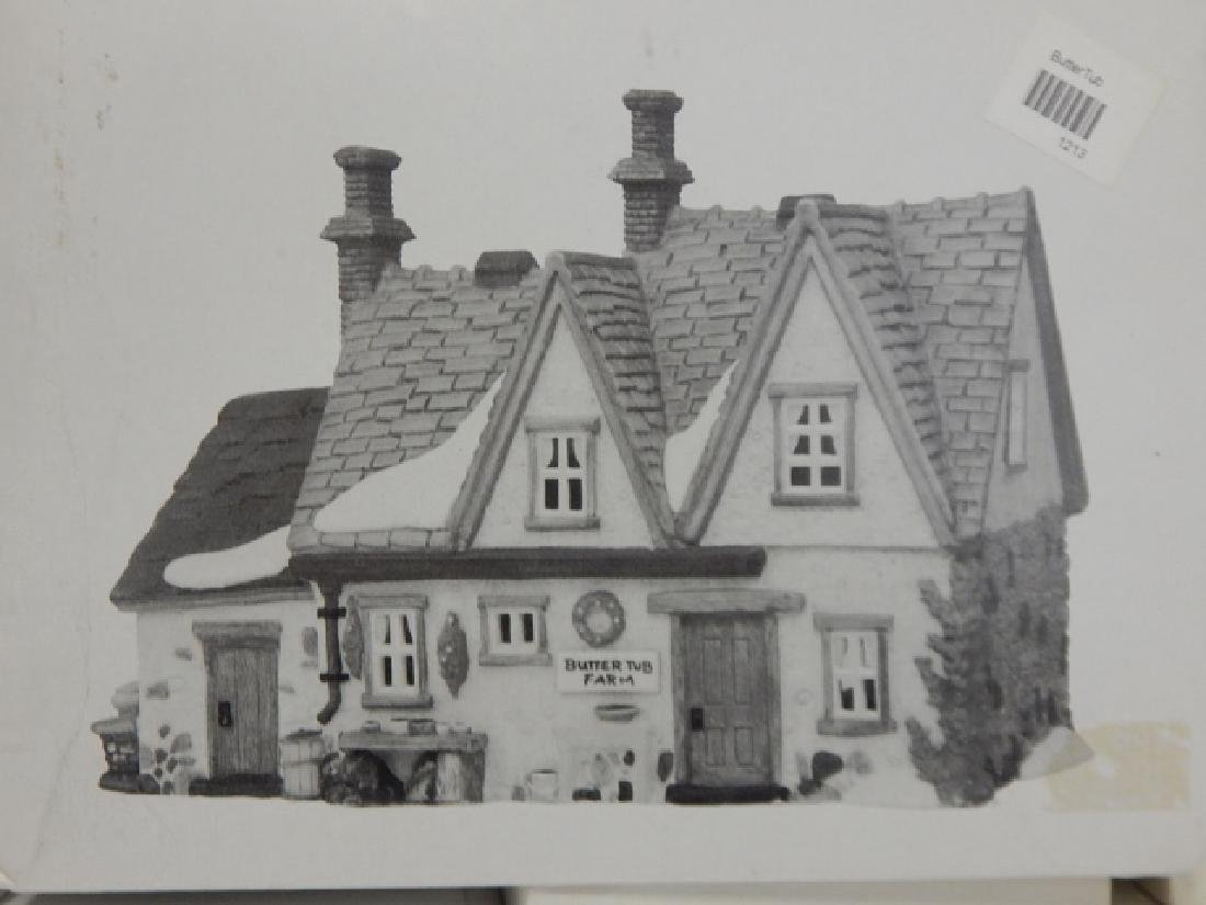 6 PC DEPARTMENT 56 OF HERITAGE VILLAGE COLLECTION - 3