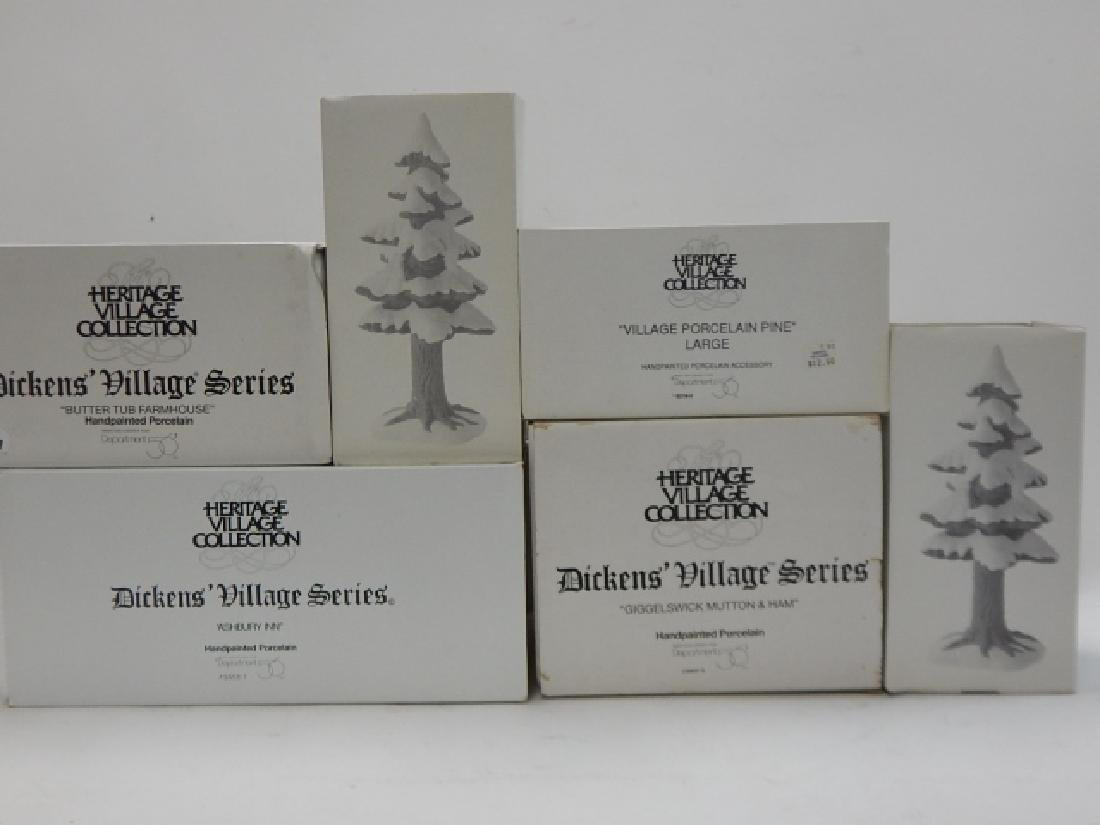 6 PC DEPARTMENT 56 OF HERITAGE VILLAGE COLLECTION - 6