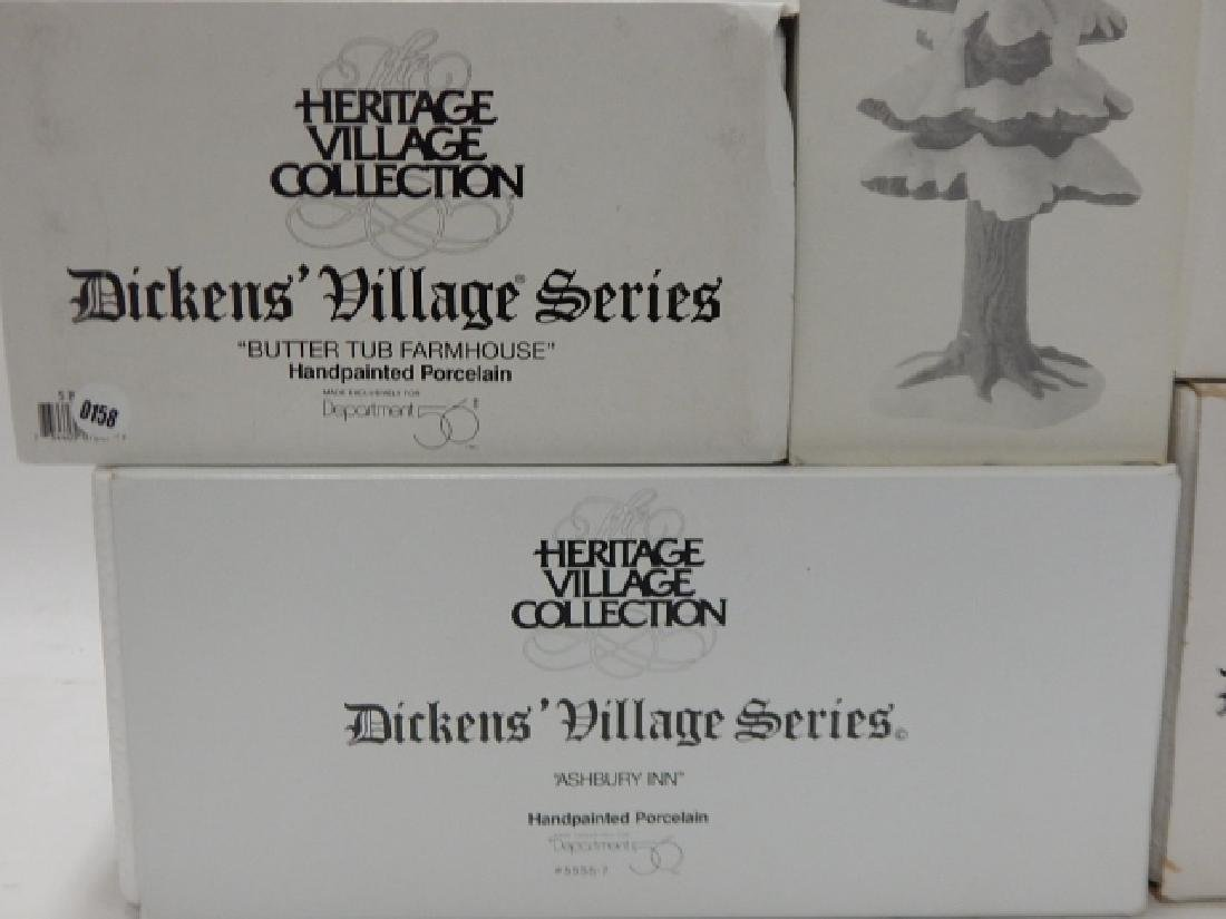 6 PC DEPARTMENT 56 OF HERITAGE VILLAGE COLLECTION - 7
