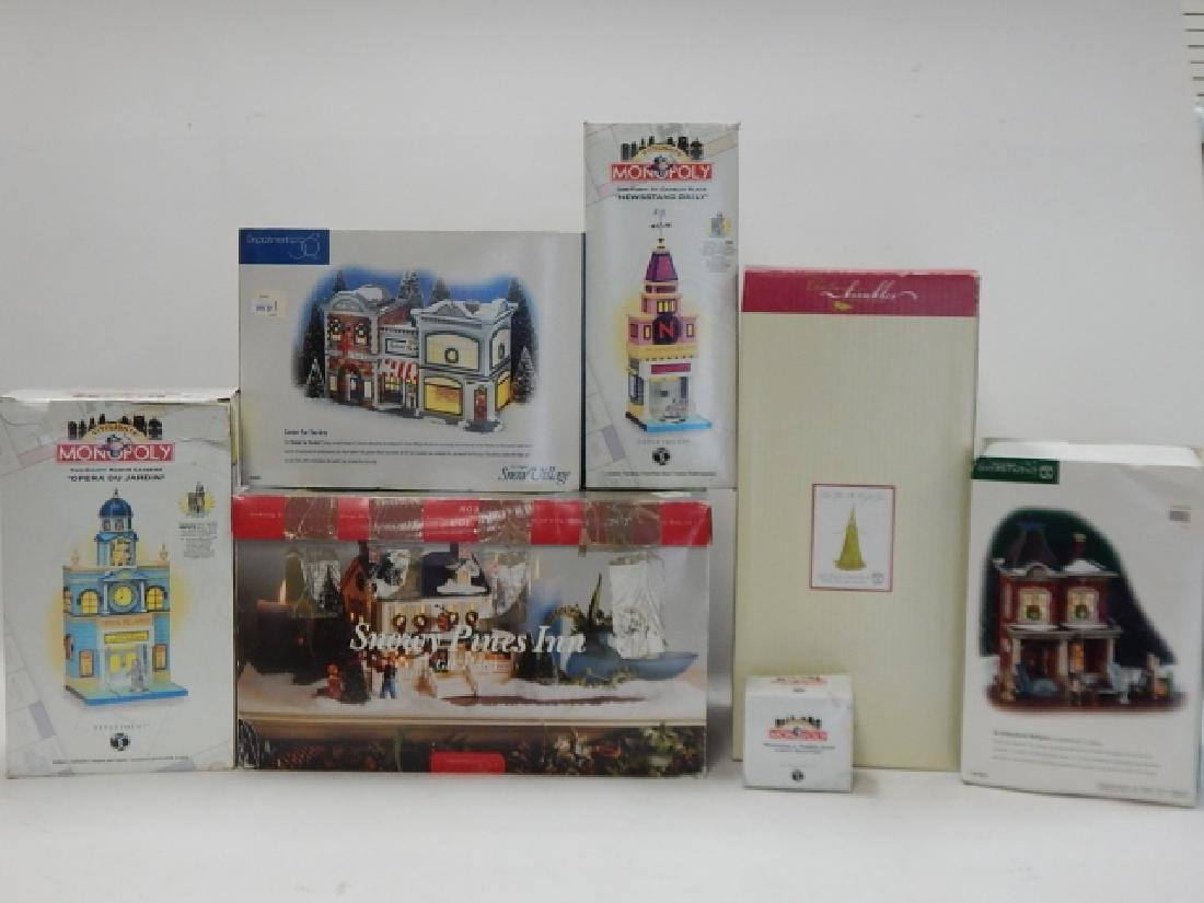 6 PC. COLLECTION OF DEPARTMENT 56 BUILDINGS