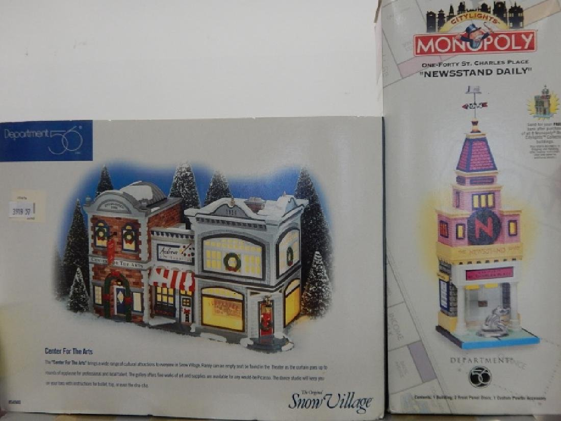6 PC. COLLECTION OF DEPARTMENT 56 BUILDINGS - 4
