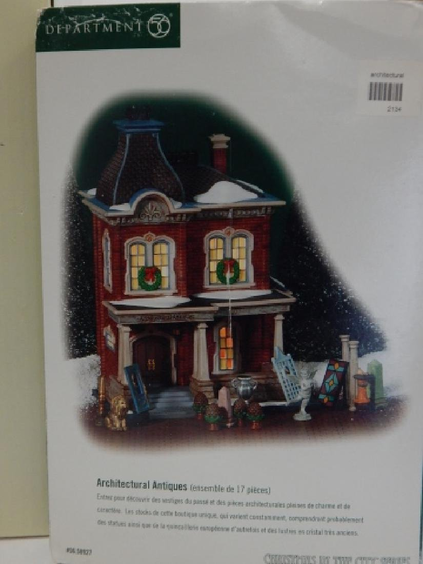 6 PC. COLLECTION OF DEPARTMENT 56 BUILDINGS - 6