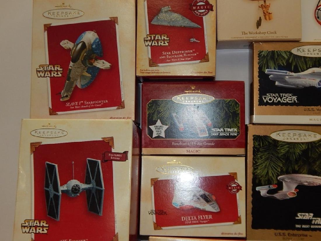 HALLMARK KEEPSAKE STAR WARS ORNAMENTS - 5