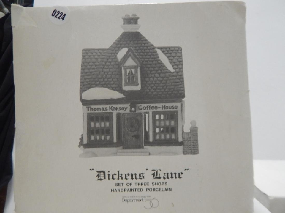 6 PC. DEPARTMENT 56 HERITAGE VILLAGE COLLECTION - 3