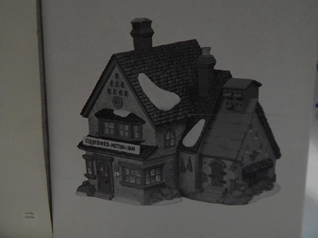 6PC. DEPARTMENT 56 HERITAGE VILLAGE COLLECTION - 4