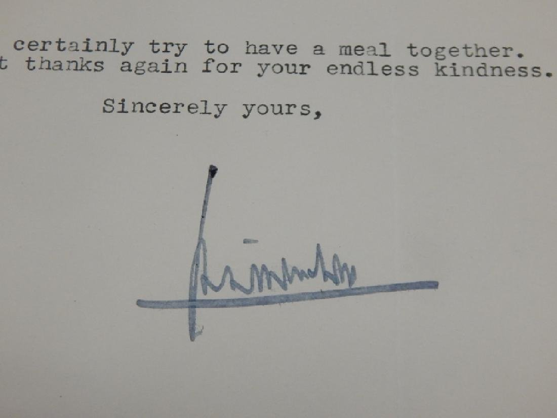 H.L. MENCKEN SIGNED LETTER WITH PHOTO - 3