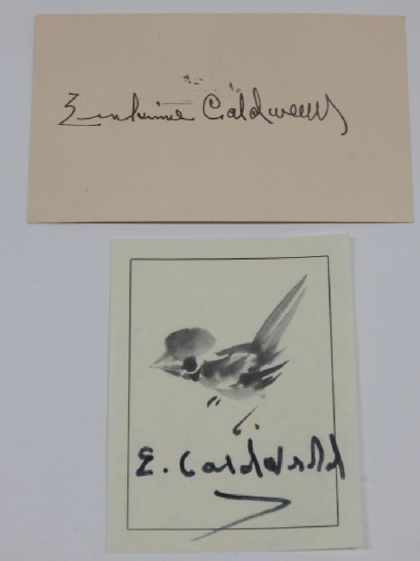 ERSKINE CALDWELL AUTOGRAPH