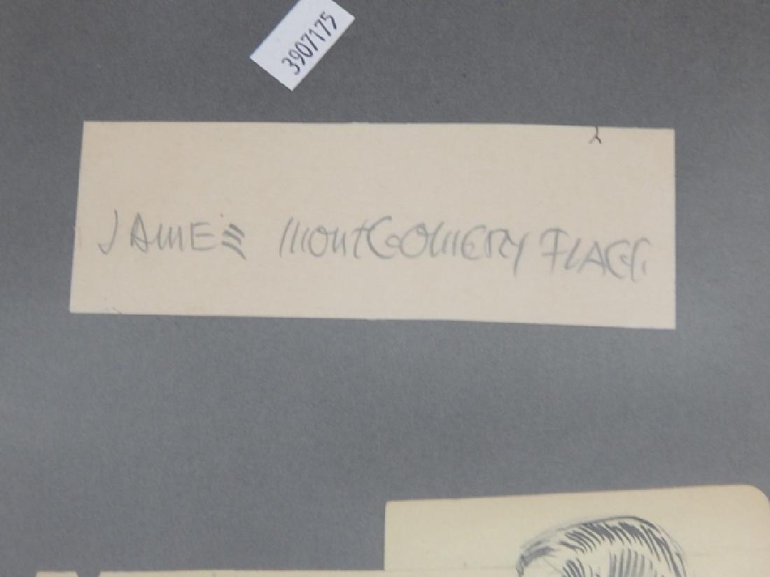 JAMES MONTOGOMERY FLAGG AUTOGRAPHS - 2