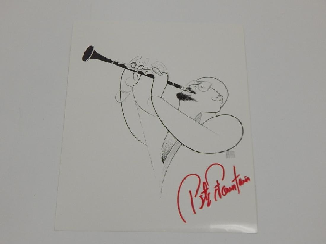 TWO PETE FOUNTAIN AUTOGRAPH