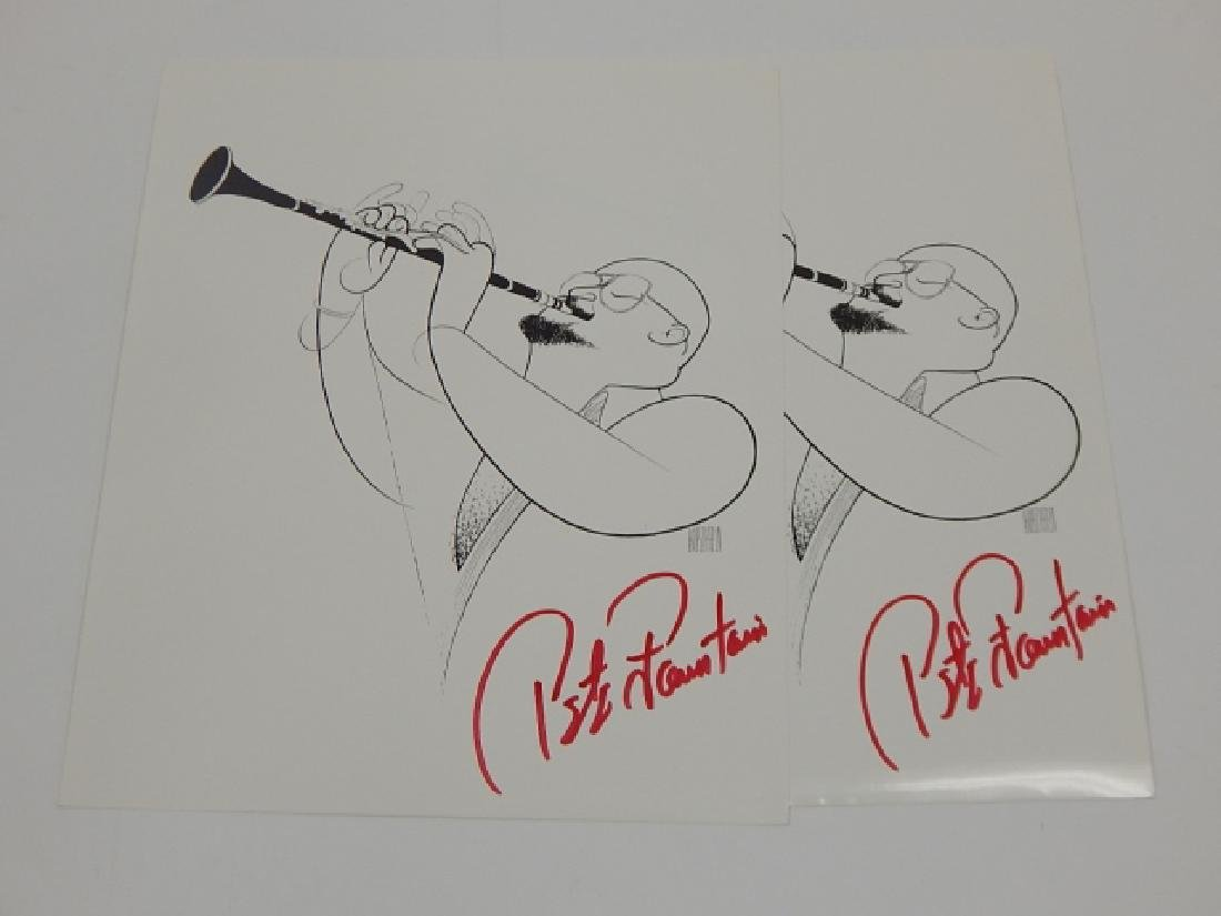 TWO PETE FOUNTAIN AUTOGRAPH - 2