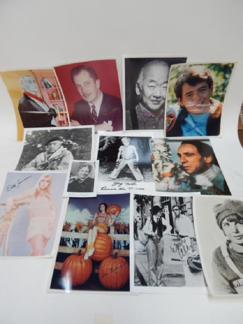 COLLECTION OF AUTOGRAPHED PICTURES