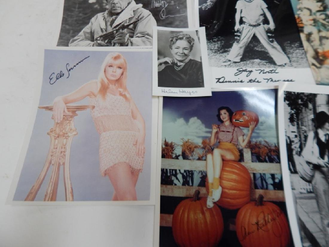 COLLECTION OF AUTOGRAPHED PICTURES - 5