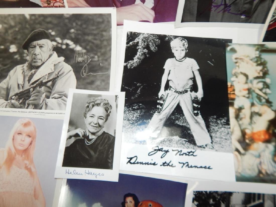 COLLECTION OF AUTOGRAPHED PICTURES - 6