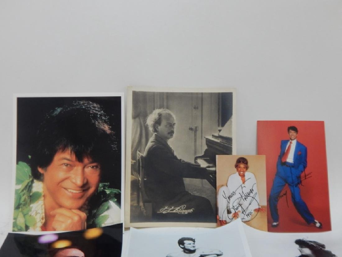 COLLECTION OF AUTOGRAPHED PICTURES - 2