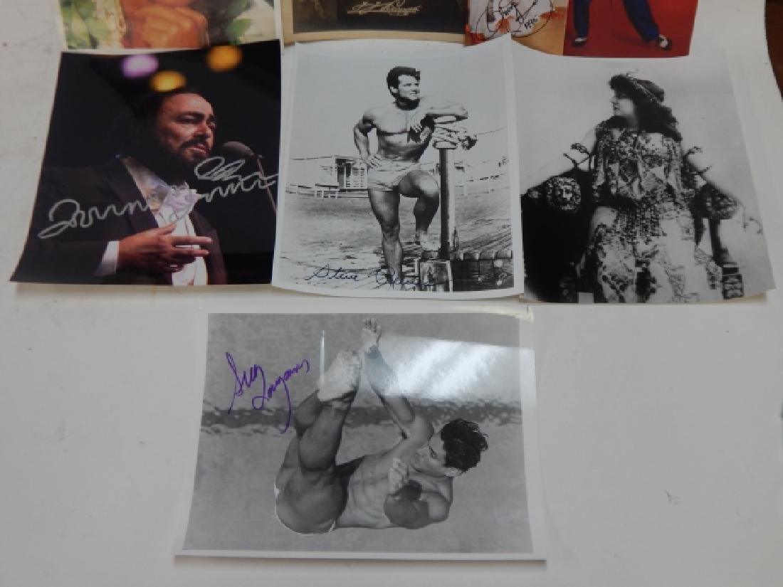 COLLECTION OF AUTOGRAPHED PICTURES - 3
