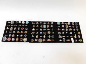 LOT OF COSTUME RINGS
