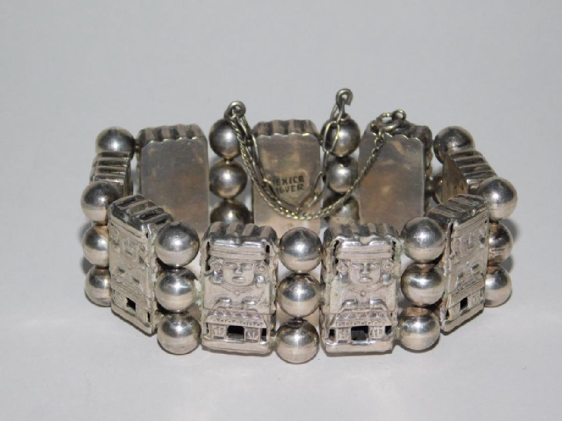 MEXICAN SILVER BRACELET - 2