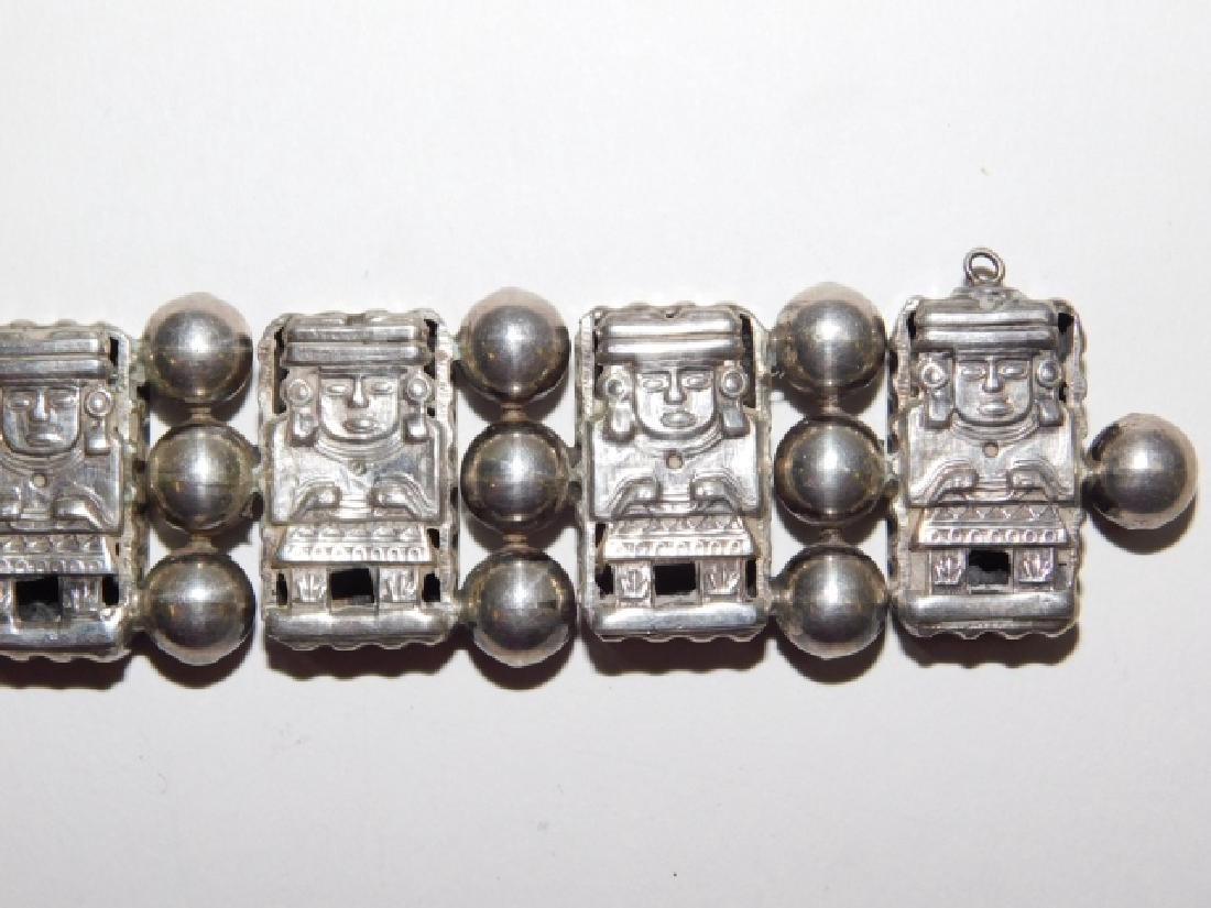 MEXICAN SILVER BRACELET - 6