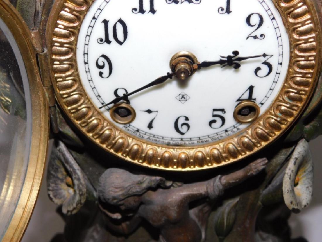 ART NOUVEAU CLOCK - 4