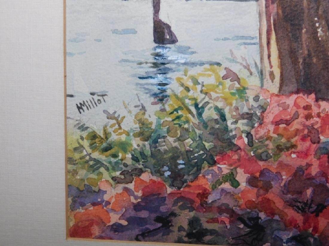 TWO WATERCOLORS - 7