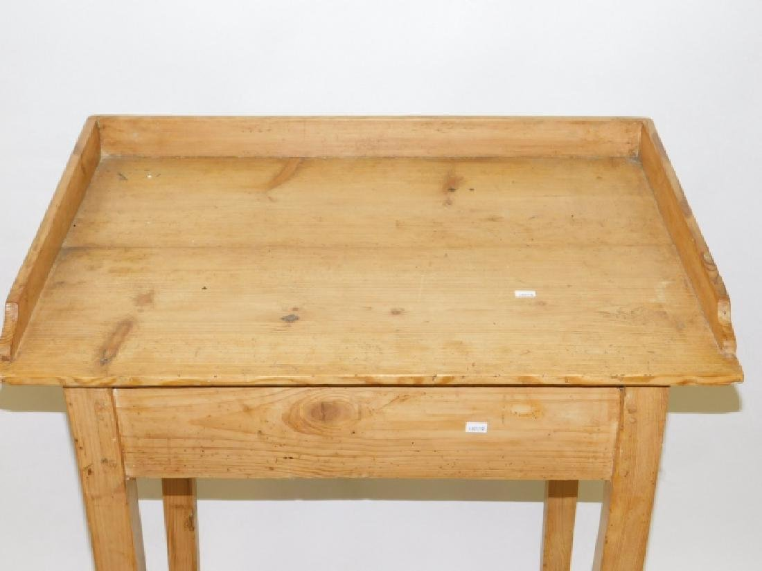 PINE WORK TABLE - 2