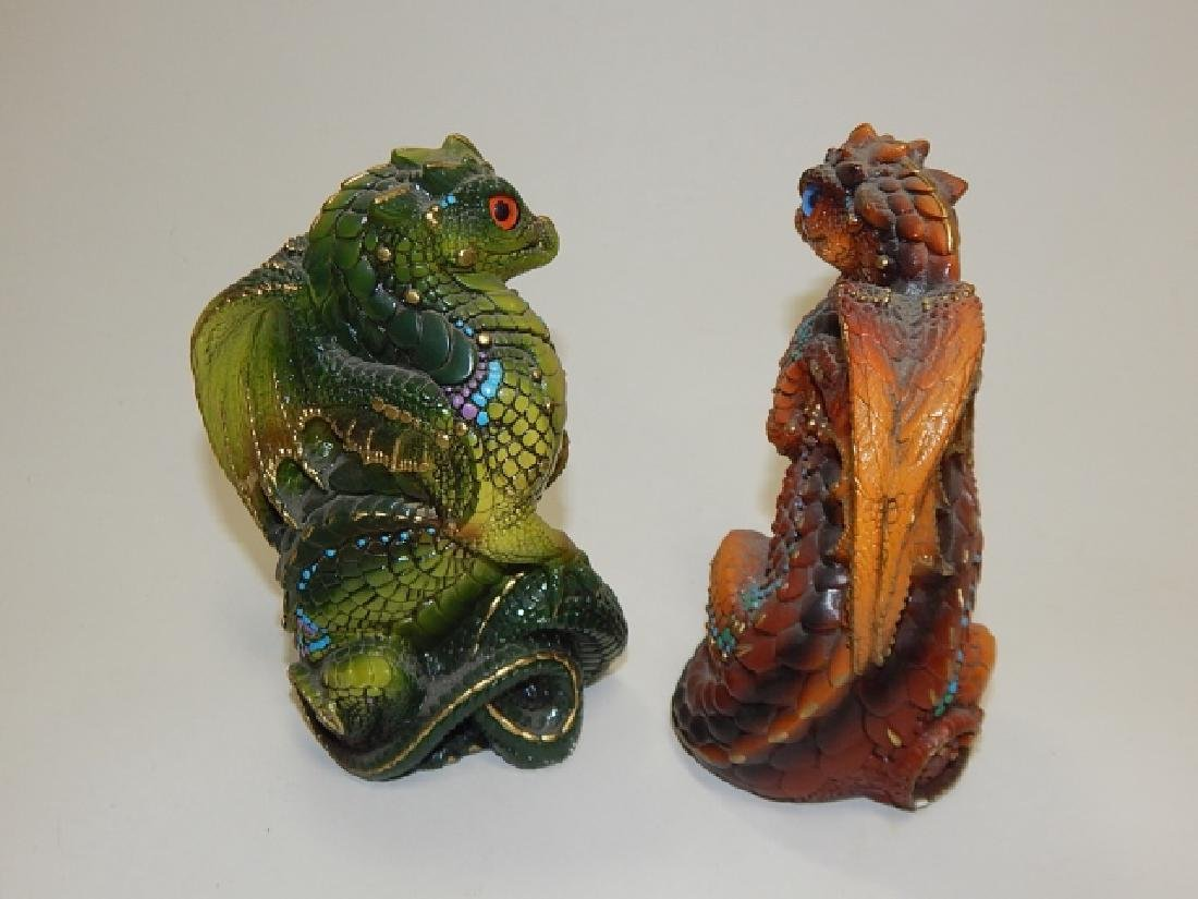 4 PIECE WINDSTONE EDITION DRAGONS - 6
