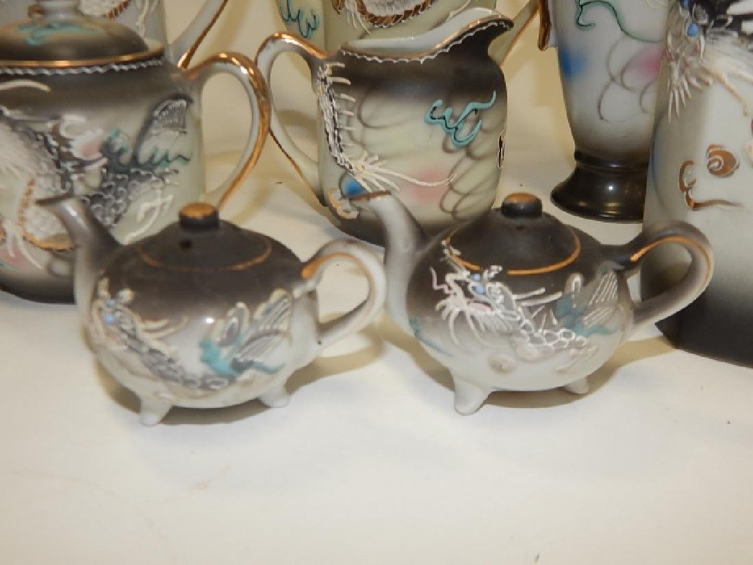 LARGE ASSORTMENT OF DRAGON WARE DISHES - 5