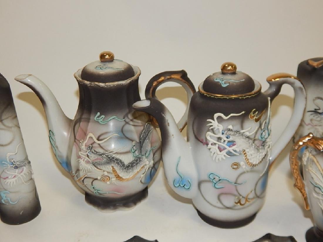ASSORTED DRAGONWARE DISHES - 3