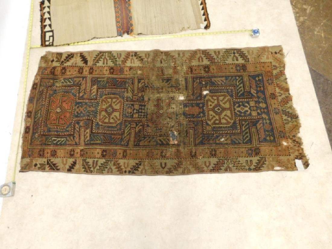 HAND TIED RUGS AND CARPET BAG - 2