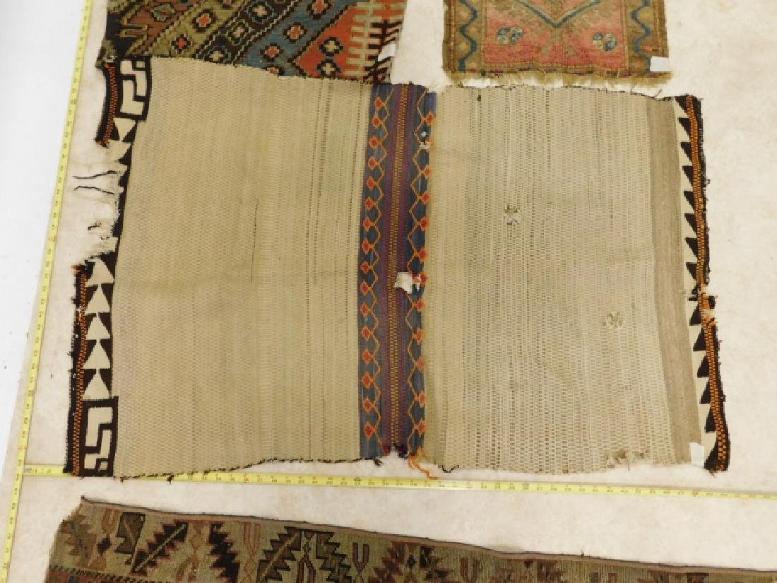 HAND TIED RUGS AND CARPET BAG - 4